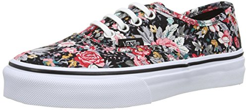Vans Authentic, Unisex-Kinder Sneaker, Mehrfarbig (Multi/Floral), 28 EU