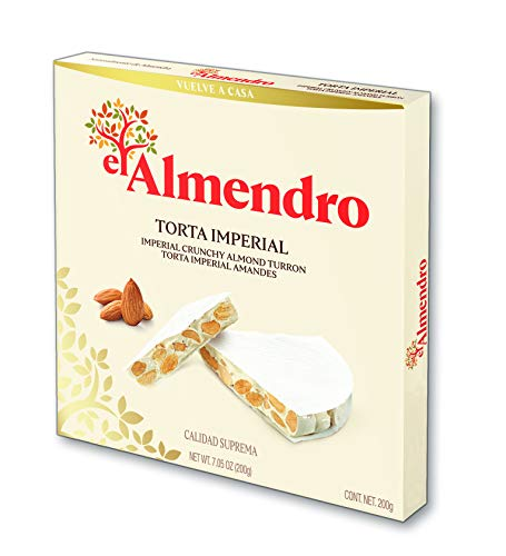 El Almendro - Torta Imperial (Turrón Duro de Almendra), 200 gr