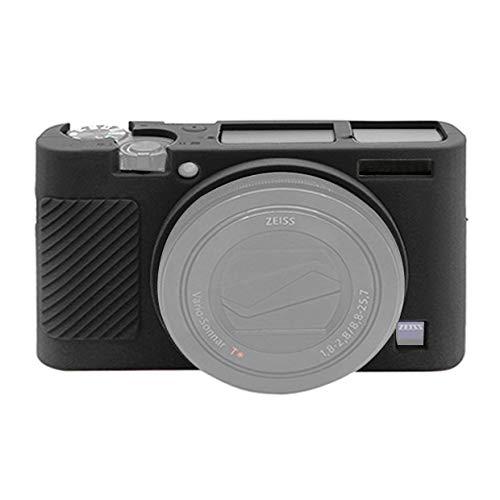 HULDORO Caja Protectora Suave de Silicona for Sony RX100 III/IV/V cámara (Color : Black)