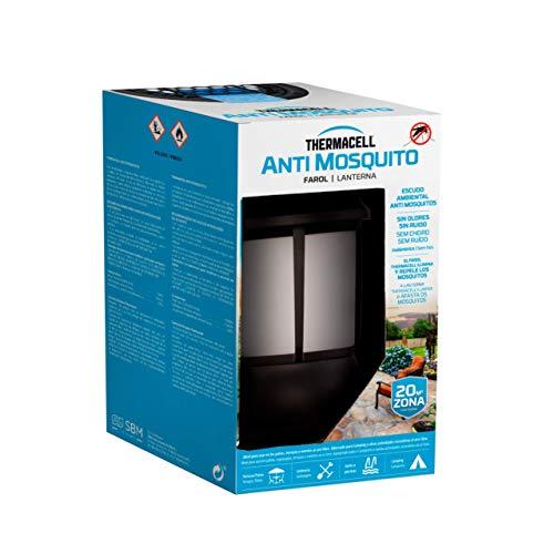 ThermaCELL - Farol, Luz Ambiente para Exteriores, Fácil de Usar, Altamente eficaz e Inalámbrico Ilumina y crea un escudo Anti Mosquito de 20 m2, te ofrece 12 horas de protección