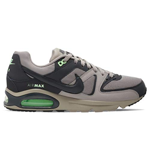 Nike Air MAX Command, Sneaker Mens, Enigma Stone/Anthracite-Illusion Green, 42.5 EU