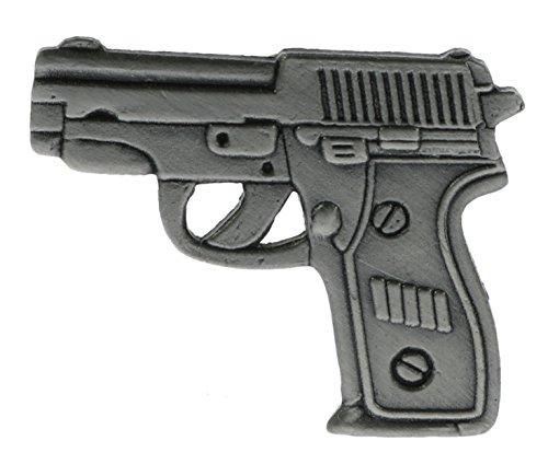 Sujak Military Items 9 MM Pistol Miniature Replica Hat or Lapel Pin HON15713