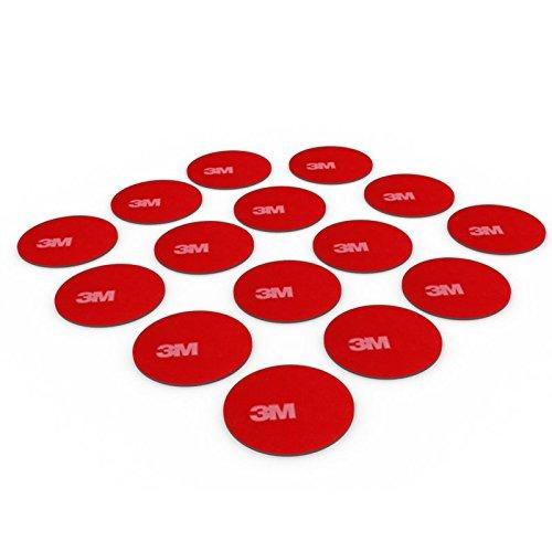 DonDo 3M 4229P doppelseitiges Klebeband Montage Klebestreifen Klebepads Durchmesser 30mm 15 Stück