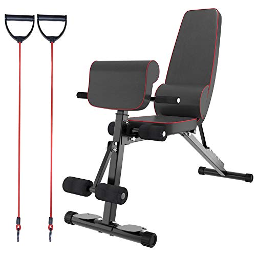 Weight Bench,Adjustable Exercise Dumbbell Bench,Strength Training,Full Body Workout Fitness Home Equipment