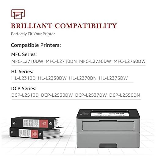 Toner Kingdom TN2420 Cartucho Toner Compatible para Brother TN2420 TN2410 para Brother MFC-L2710DW HL-L2350DW DCP… 4