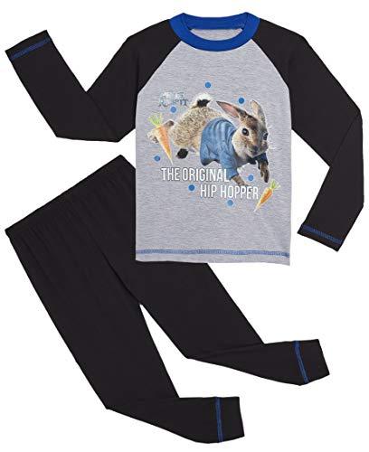 Peter Rabbit Pyjamas (9-10 Jahre, schwarz & grau)
