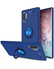Lenuo Samsung Galaxy Note 10 Plus Case, Ring Holder Magnetic, Blue