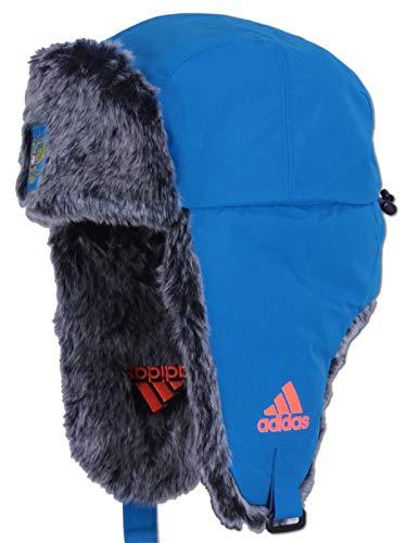 adidas-Climaproof-Team-Russia-Ushanka-Russen-Muetze-Trapper- (OSFW - 56cm - Damen)