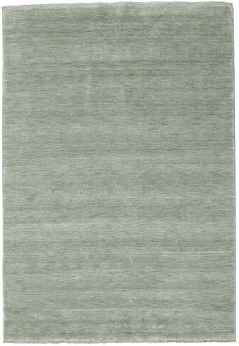 CarpetVista Alfombra Handloom Fringes - Soft Teal 160x230 Alfombra Moderna