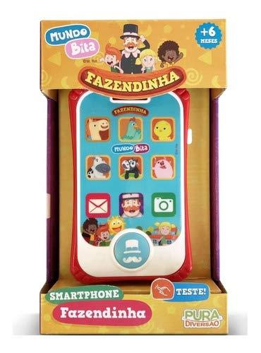 Brinquedo Mundo Bita Smartphone Fazendinha Yes Toys 20119