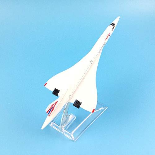 tytlmask Flugzeug Modell 16Cm British Airways Concorde Metalllegierung Modell Flugzeug Flugzeug Modell Spielzeug Flugzeug Geburtstagsgeschenk