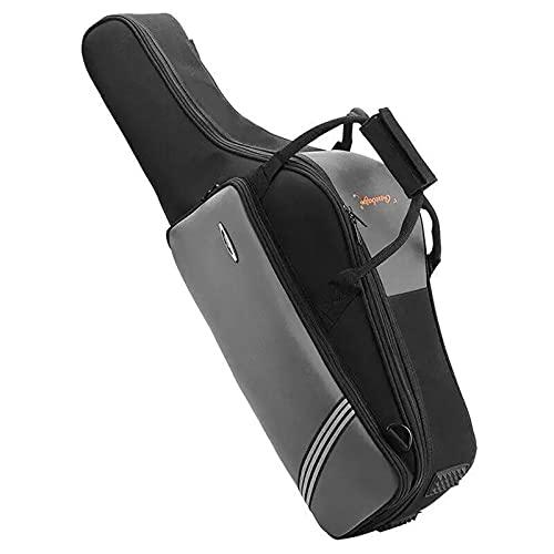 Borsone da Trasporto per Sax Contralto/Sax tenore,Zaino in nylon spesso impermeabile e resistente alle cadute di alta qualità Con borsa per bocchino e tracolla regolabile,Borsa da viaggio portatile