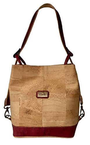 Kurk hand tas grote schoudertas met converteerbare riem Elegante en casual multifunctionele kurk handtas uit Portugal Dames kurk Shopper handtas