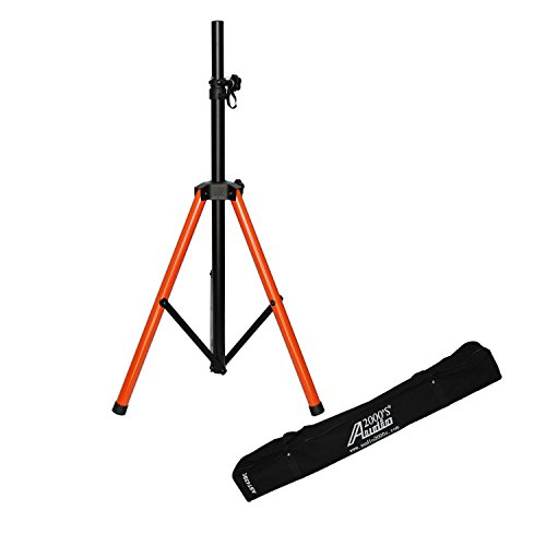 Audio 2000s Heavy Duty Speaker Stand with Canvas Carrying Bag AST4399