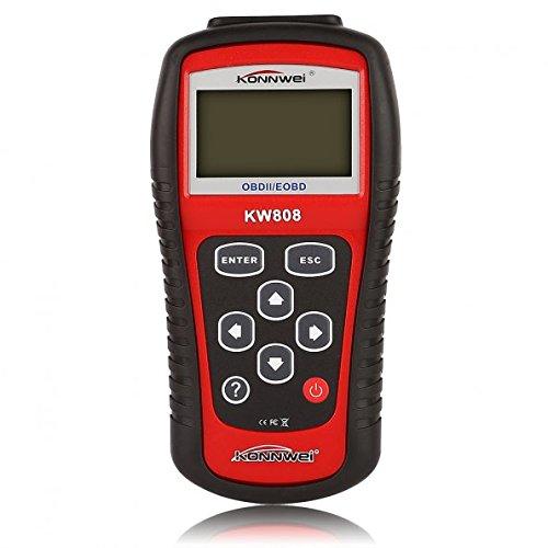 KONNWEI KW808 EOBD OBD2 Fehlercodeleser Diagnosegerät Scanner für Auto Fahrzeuge