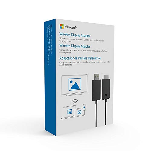 Microsoft P3Q-00014 Kabelloser Display-Adapter Dongle HDMI/USB - Kabellose Display-Adapter (Dongle, HDMI/USB, WLAN, USB Typ-A, Schwarz, USB)