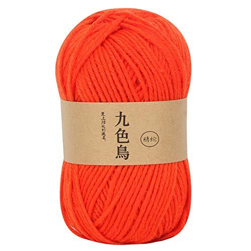 Xinger acryl lijn haak medium dik kussen haak schoenen lijn wol voor met de hand breien warme trui sofa kussen sjaal, h