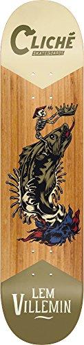 Unbekannt Cliche 10026400 Swanksi Lem Villemin Skateboard-Deck, Größe 8,25