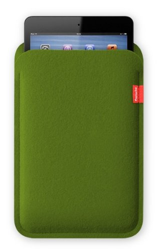 Freiwild Sleeve 7 grün für iPad mini. Filz, Schutzhülle, Tasche, Case