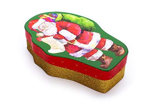 Tri-coastal Design - Cadeau & Opbergdoos, Kerstmis doos met Inbouwdeksel, Vakantie Decoratief Karton Kerstavond Cadeau en Opbergdoos