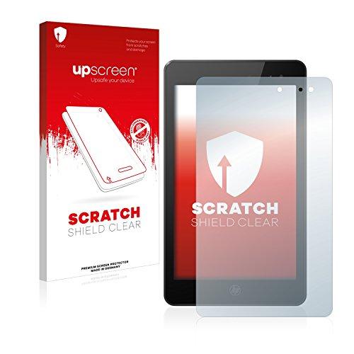 upscreen Schutzfolie kompatibel mit HP Envy 8 Note – Kristallklar, Kratzschutz, Anti-Fingerprint