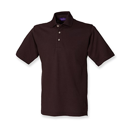 Henbury - Polo - - Polo - Col polo - Manches courtes Homme - Marron - Chocolat - Medium