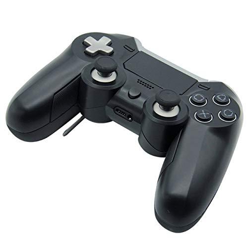 HK Manette de Jeu, PS4 contrôleur Bluetooth P4 Elite Wireless Controller avec écouteur Trou PC Controller Une Touche pour activer contrôleur Multi-Fonctions