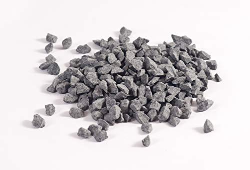 NWN Basaltsplitt | 250 KG Big Bag | 8-12 MM | anthrazit-grau | Dekosteine | Zierkies/Ziersplitt (250 KG Big Bag)