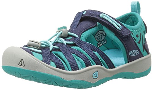 KEEN 1016351 Mädchen Sandalen Dress Blues/Viridian, EU 24