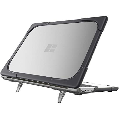 """ProCase Funda Dura para Microsoft Surface Laptop Go 12,4"""" 2020, Carcasa Robusta Antichoque para Surface Laptop Go 12,4 Pulgadas -Negro"""