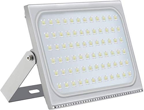 500W LED Strahler Außen Superhell LED Fluter Flutlicht, IP66 Wasserdicht Außenstrahler, kaltes Weiß 6000K, Baustrahler für Hof, Garage, Werkstatt [Energieklasse A+]