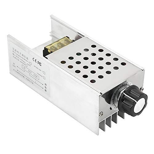 Regulador de voltaje eléctrico Dimmer 6000W AC 220V SCR Controlador de temperatura...
