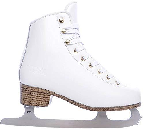 TEMPISH Experie Eiskunstlauf Schlittschuhe (Weiß - 41)
