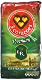 3 Coracoes Brazilian Ground Coffee 500 grams (Premium ER, Pack of 4)