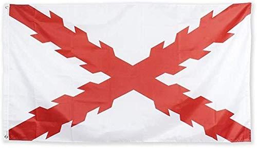 Estirpe Imperial Bandera Cruz de Borgoña 150x90cm