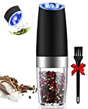 Gravity Electric Pepper Grinder or Salt Grinder Mill - Battery Operated Automatic Pepper
