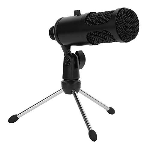 USB Mikrofon Set, Computer USB Mikrofon Set 192KHZ / 24Bit Hohe Abtastrate Professionelles Mikrofon Computer Zubehör für Gaming Stimme, 5.5 * 1.77 * 0.77 Zoll