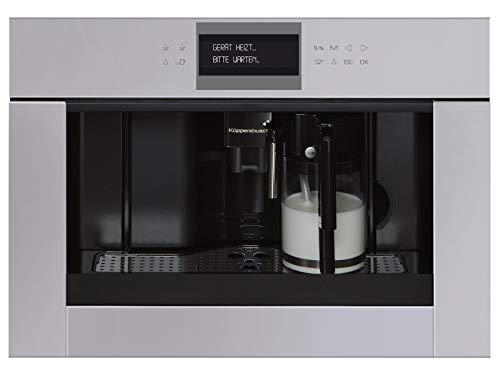 Küppersbusch CKV 6550.0 G K-Series. 5 Einbau-Espresso-/Kaffeevollautomat Grau