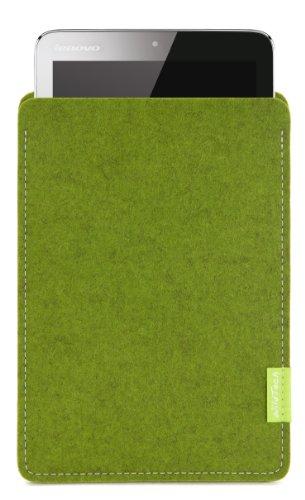WildTech Sleeve für Lenovo A7-50 Tablet (A3500) Hülle Tasche - 17 Farben (Made in Germany) - Farn
