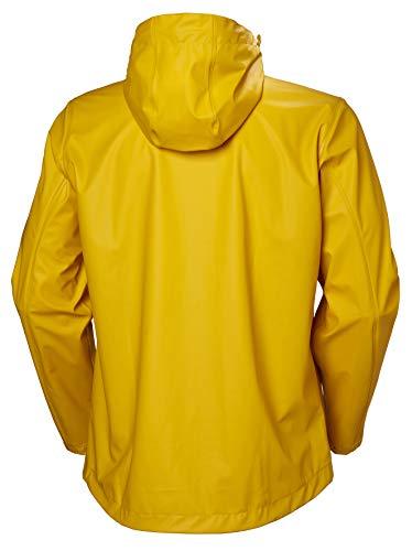 Helly Hansen Moss Outdoor Chaqueta Impermeable, Hombre, Amarillo Esencial, M