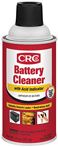 CRC 05023 Battery Cleaner with Acid Indicator - 11 Wt Oz.
