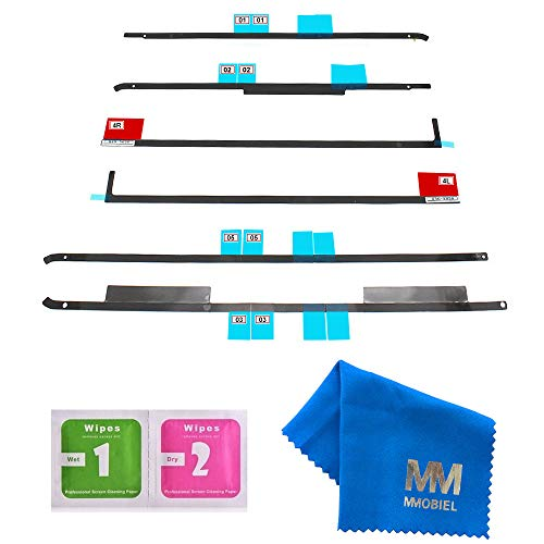 MMOBIEL Klebe Sticker Strip Set für LCD Display kompatibel mit iMac 21.5