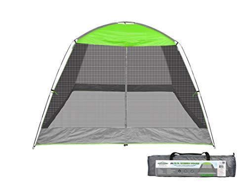 Caravan Sports 81018013320 Caravan Sports Screen House Shelter, 10 x 10-Feet, Lime Green Canopy