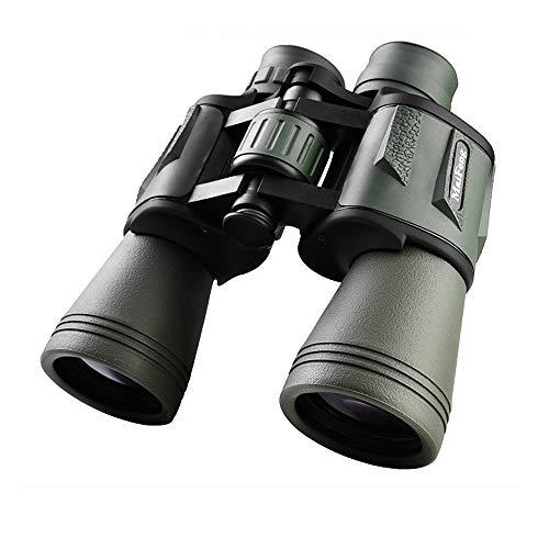 Prismáticos,20x50 HD Binoculares Profesionales, Telescopio de Prismáticos Compactos e Impermeables Impermeables Vision Nocturna Ideales para Observación de Aves,Caza,Senderismo,Camping (Ejército)