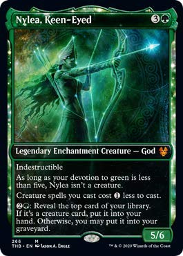Magic: The Gathering - Nylea, Keen-Eyed - Showcase - Theros Beyond Death