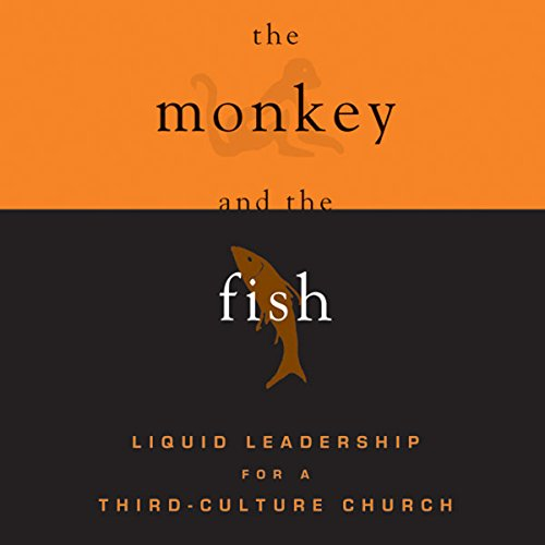 The Monkey and the Fish audiobook cover art