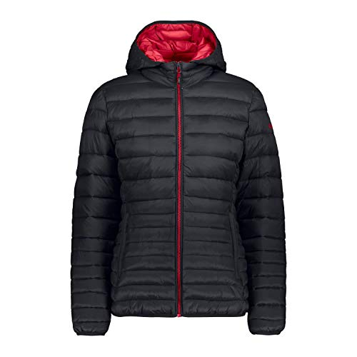 CMP Damen Isolationsjacke Jacke, Antracite-Rhodamine, 42