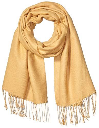 Amazon Essentials Women's Blanket Scarf, Camel, One Size