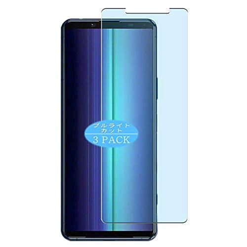 Vaxson - Protector de pantalla para Sony Xperia 5 II (3 unidades), color azul