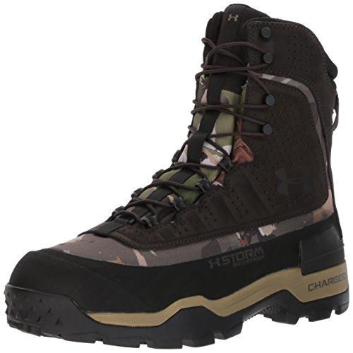 Under Armour Men's Browe 2.0 400G Ankle Boot, Ridge Reaper Camo Fo (900)/Cannon, 9
